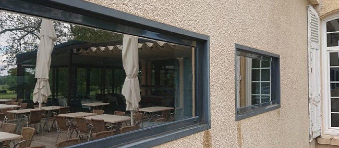 Film solaire vitrages SX50 extérieur, Confort Glass, Sathonay-Camp, Lyon