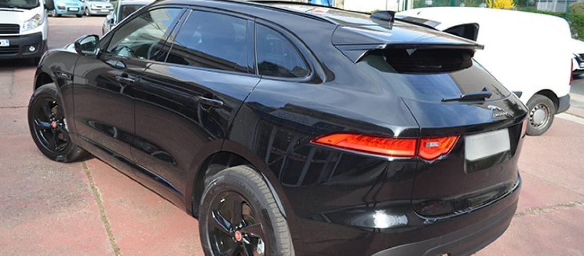 Jaguar F-PACE, vitres teintées automobile, Confort Glass Caluire, Lyon