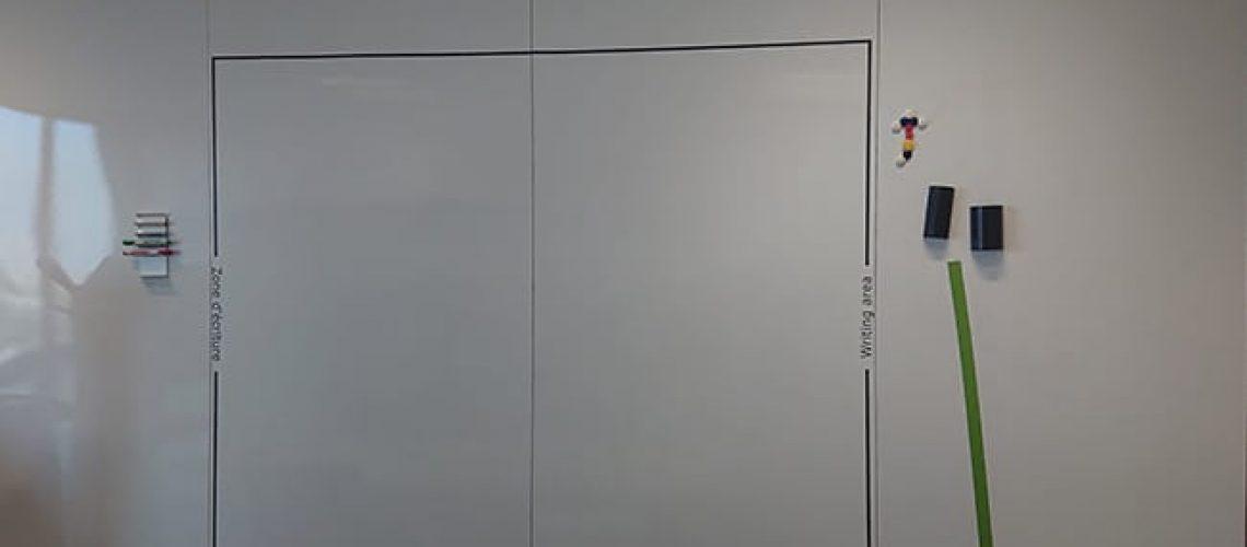 Marquage adhésif noir sur tableaux, Confort Glass, Caluire, Lyon