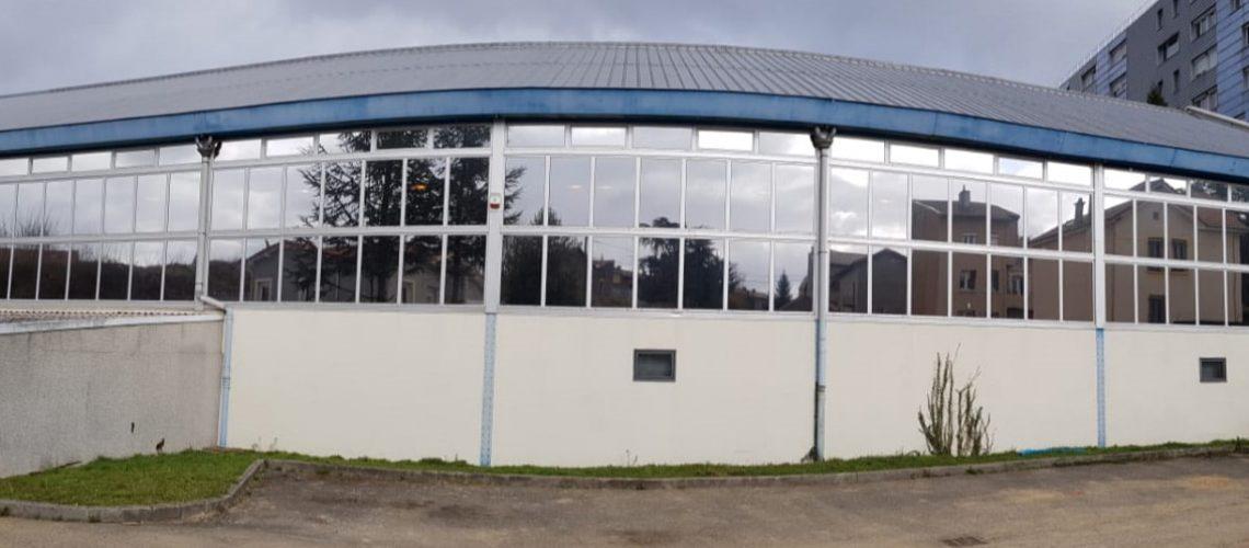 Silver 20 OSW, film solaire extérieur, Confort Glass Bâtiment, Sathonay-Camp, Lyon, film solaire