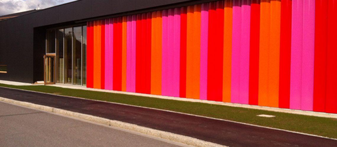 Brises soleil verticaux Stores BSO Thiez Bâtiment Confort Glass Caluire Lyon