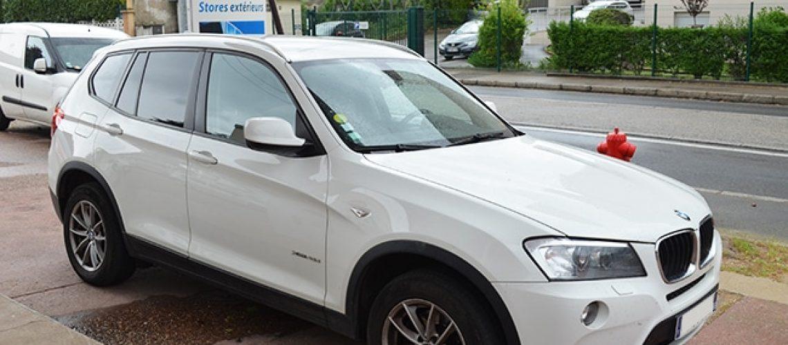 Vitres teintées BMW X3, Confort Glass automobile Sathonay-Camp, Lyon