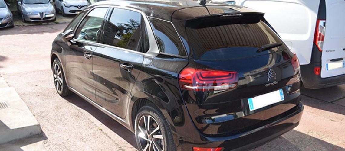 Vitres teintées Citroën C4 Spacetourer, Confort Glass Automobile, Caluire, Lyon, région Rhône-Alpes