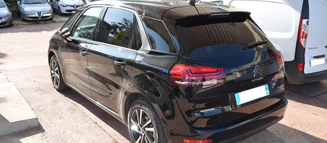 Vitres teintées Citroën C4 Spacetourer, Confort Glass Automobile, Sathonay-Camp, Lyon, région Rhône-Alpes