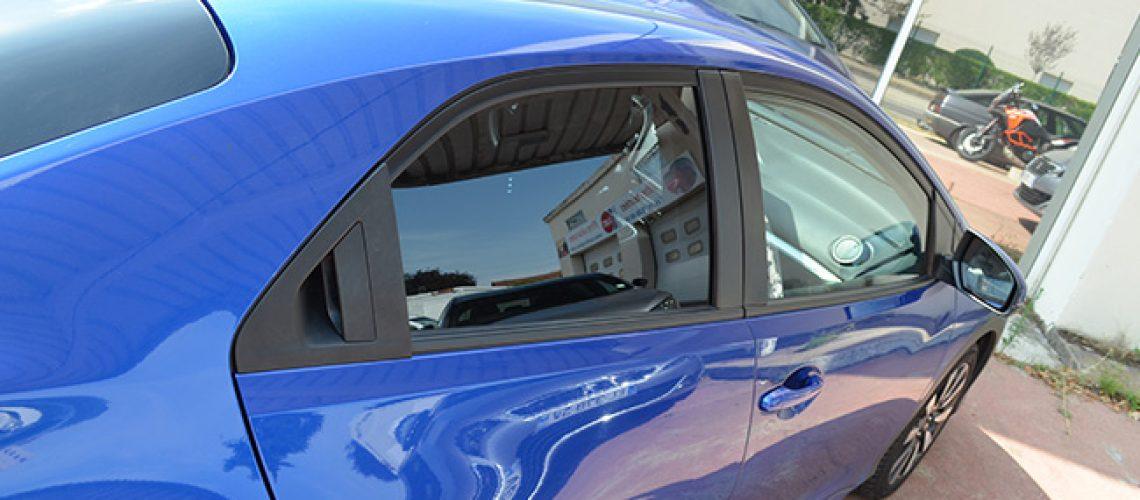 Vitres teintées Honda Civic, Confort Glass Automobile, Caluire, Lyon, région Rhône-Alpes
