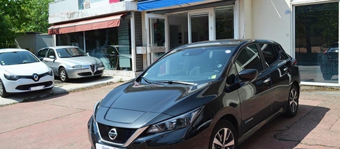 Vitres teintées Nissan Leaf, Confort Glass automobile, Caluire, Lyon
