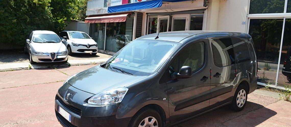 Vitres teintées Peugeot Partner, Caluire, Lyon, région Rhône-Alpes