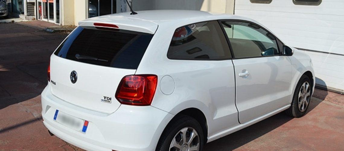 Vitres teintées Volkswagen Polo blanche, Confort Glass, Sathonay-Camp, Lyon