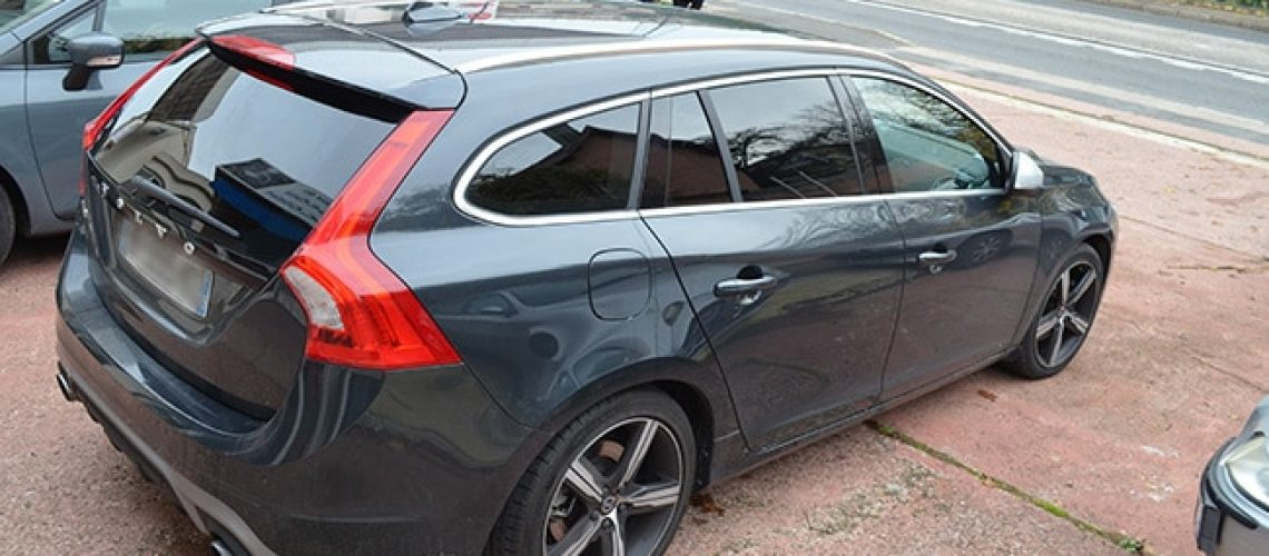 Vitres teintées Volvo V60, Confort Glass Automobile, Sathonay-Camp, Lyon, région Rhône-Alpes