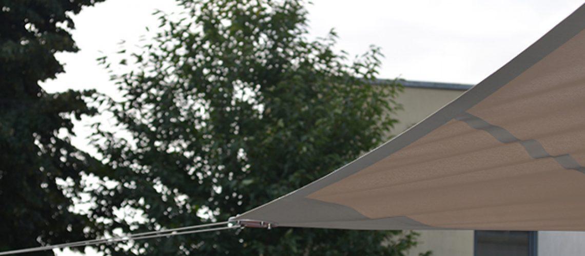 Toile tendue, voile d'ombrage au Groupe scolaire de Collonges-au-Mont-d'Or, Confort Glass Sathonay-Camp, Lyon