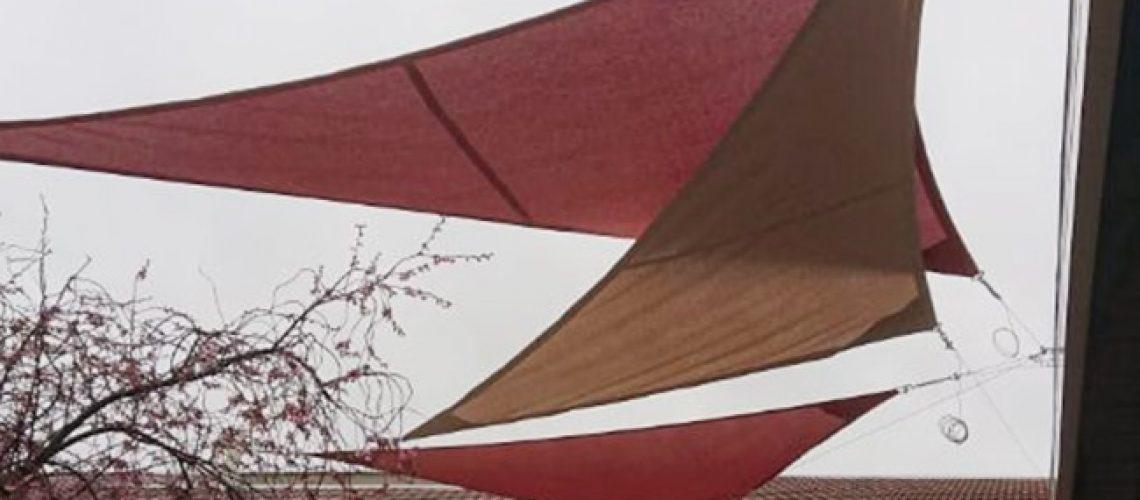 Voile d'ombrage toiles tendues, Confort Glass Sathonay-Camp, Lyon, région Rhône-Alpes